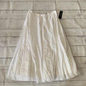 Lauren Ralph Lauren White Sands Maxi Skirt
